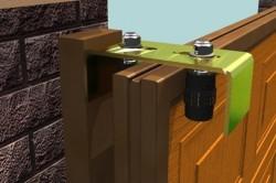 Монтаж верхних роликов от бокового качения