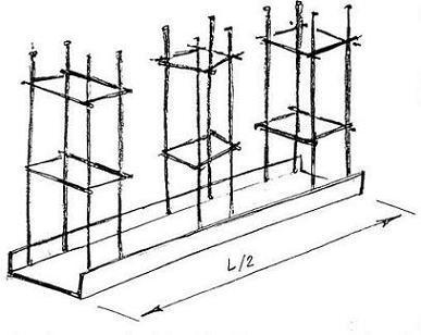 Схема закладного элемента