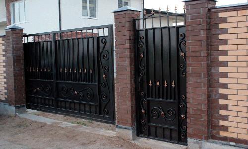 Ворота и калитки своими руками: их виды - Профнастил 59