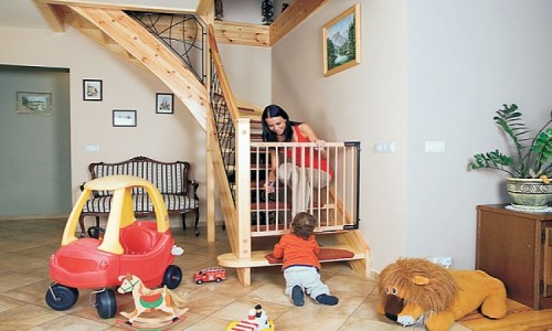 Детские ворота безопасности