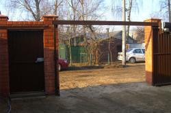 Ворота откатные подвесные
