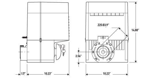 Схема электропривода для