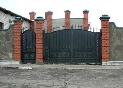 Калитка и ворота из металла