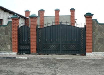 Ворота и калитка своими руками