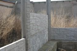 Самостоятельная установка бетонного забора