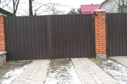 Ворота для дома