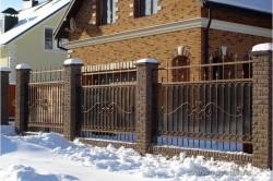 Кованный забор