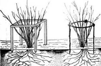 Схема установки ограждения