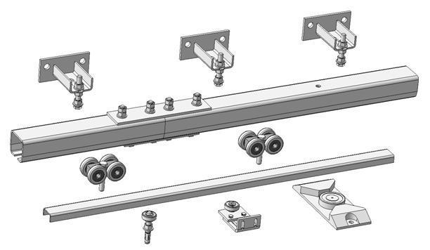 Критерием выбора направляющей для монтажа ворот является сохранение необходимых прочностных свойств изделия в период его эксплуатации.