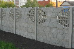 Бетонный забор – долговечное и надежное ограждение, гарантирующее безопасность вашей территории.