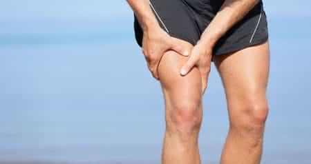 Факторы развития болей на участке от бедра до колена