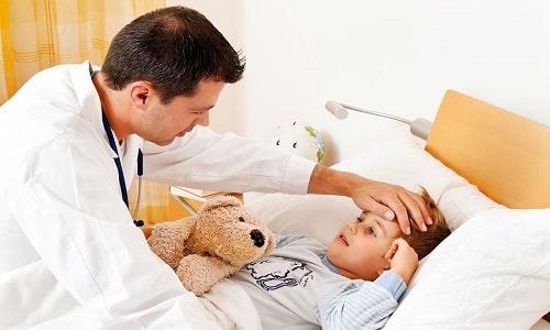 Высокая температура у ребенка как побочный эффект после прививки