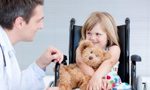 Симптомы параличей и парезов