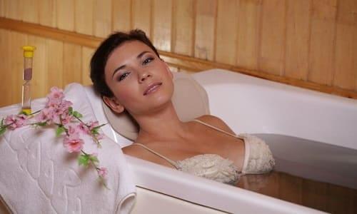 Лечение сероводородной ванной