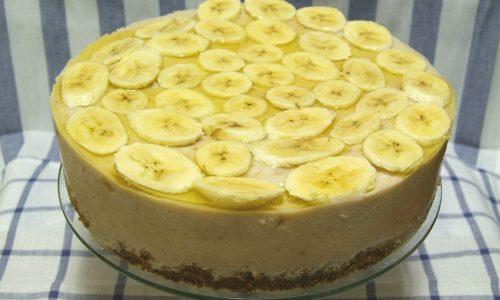 В стадии стойкой ремиссии панкреатита допустимо приготовить и банановый торт