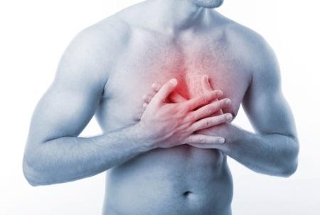 Боль под грудной клеткой
