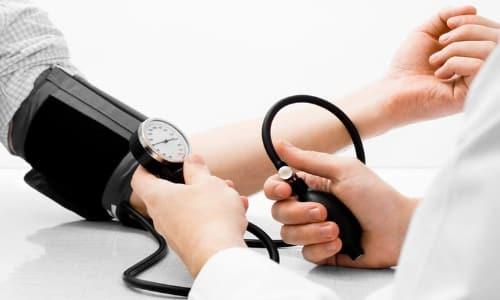 Снижение давления при спинальном шоке