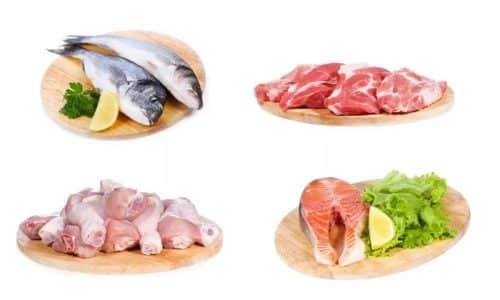Разрешенные продукты питания при цистите - диетические сорта мяса и рыбы