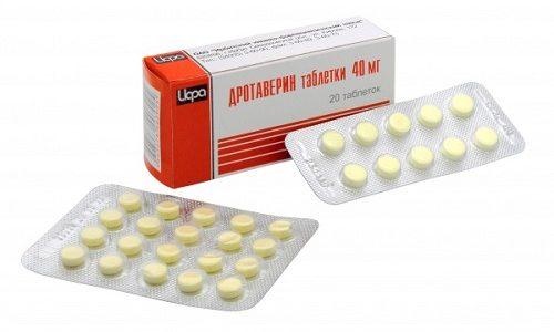 Дротаверин - спазмолитик, который назначается при обострении панкреатита