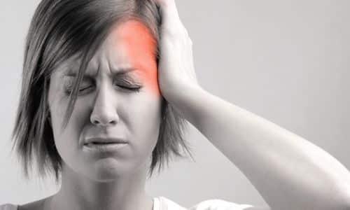 Сильная кластерная головная боль
