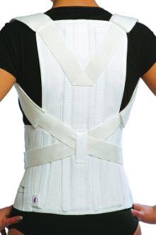 мягкая модель грудо-пояснично-крестцового корсета