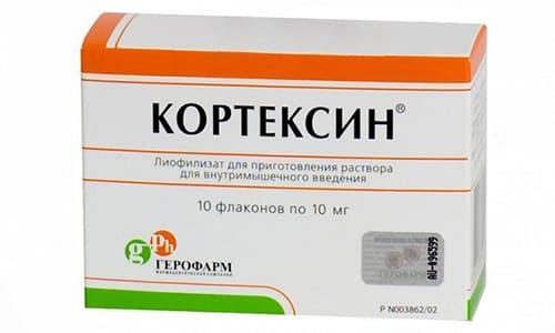 Кортексин назначают в комплексной терапии при нарушении кровообращения головного мозга