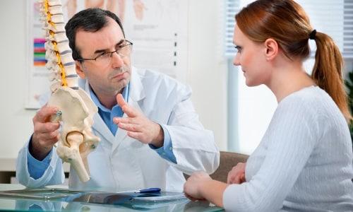 Консультация врача при травме позвоночника