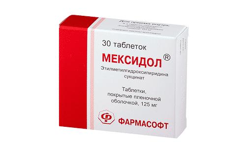 Мексидол относится к группе прочих препаратов для лечения заболеваний нервной системы