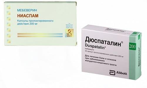 Ниаспам или Дюспаталин быстро справляются с болями в животе, возникающими при синдроме раздраженной толстой кишки, диарее и других заболеваниях