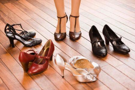 Ошибки в подборе одежды и обуви