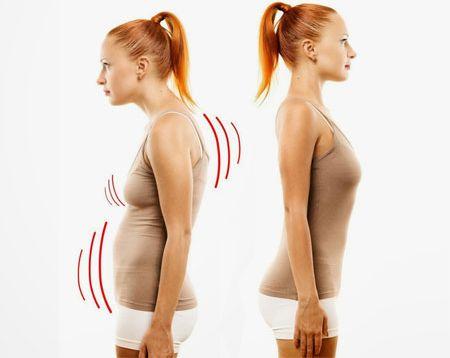 Что обуславливает деформацию спины человека