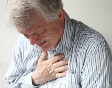 спазм в грудной клетке посередине