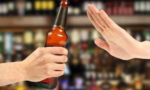 Алкоголь находится под запретом при цистите
