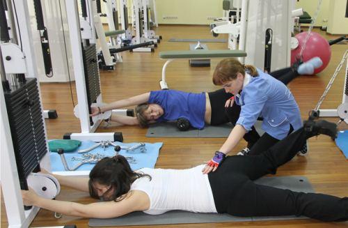 Полезная гимнастика для спины