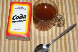 Польза соды при стоматите