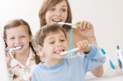 Чистка зубов для профилактики пульпита