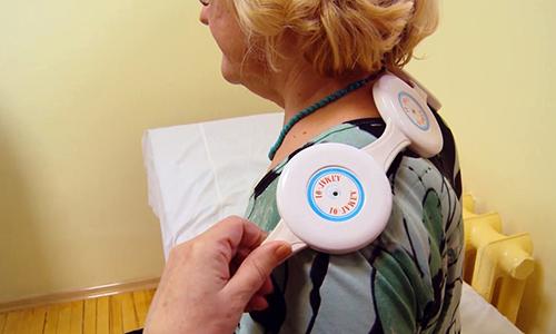 В качестве дополнительной терапии рекомендуют пациентам магнитотерапию аппаратом Алмаг