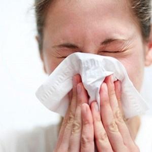 Заложенность носа, чихание