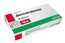 """""""Диазолин"""" для подавления аллергической реакции при лечении бронхита"""