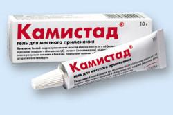 Гель Камистад для лечения пародонтоза