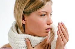 Сухой кашель - симптом фарингита