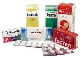 Препараты и медикаменты для лечения пищевода