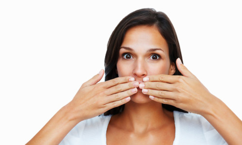 Возникновение пузырьков во рту