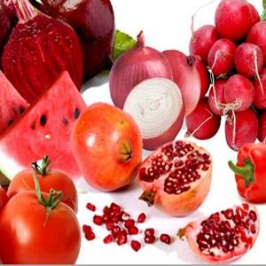 Продукты красного цвета